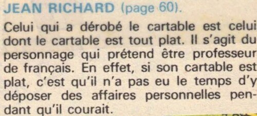 enquête de Jean Richard n°42