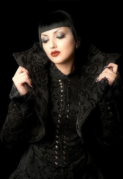 Tubes femmes gothiques création 15
