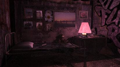 Chambre, salle, intérieur, lumière, fond sombre, grayyiti, graffiti Wallpaper