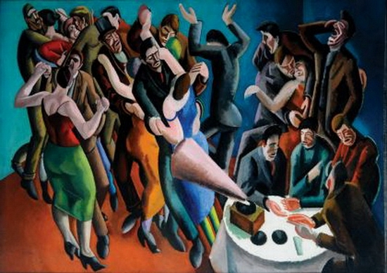 William Roberts, La fête de Jazz, 1916
