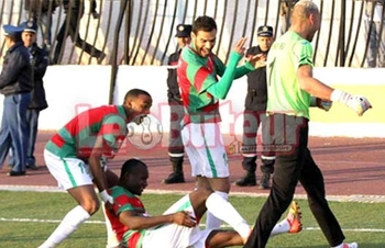 Samedi15.12.2012 coupe US Chaouia-MCA 1-1 (2-4 penalty)