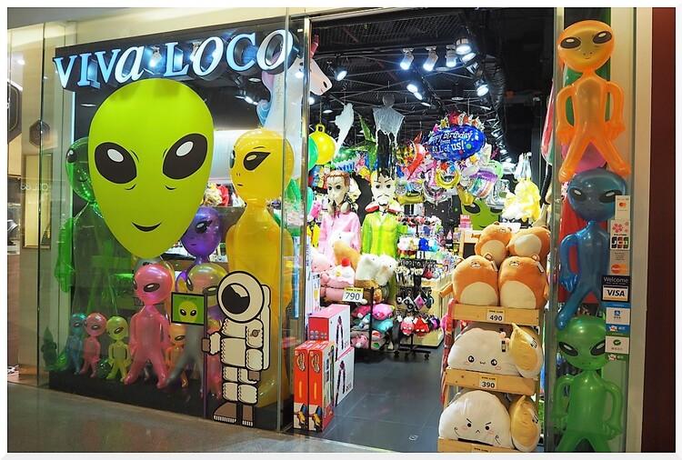 Commerces à Pattaya. Thaïlande