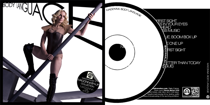 Madonna VS Kylie - Body Language Madonnash-Up Collection Remixes
