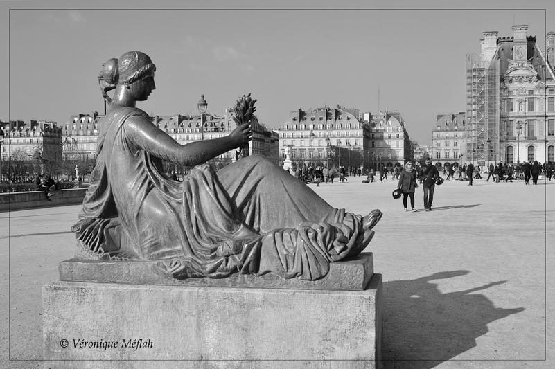 Jardin du Carrousel : Aristide Maillol : Monument à Cézanne
