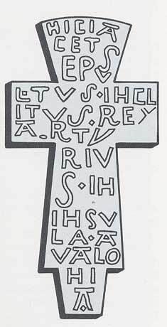 Reproduction de la croix Roi Arthur