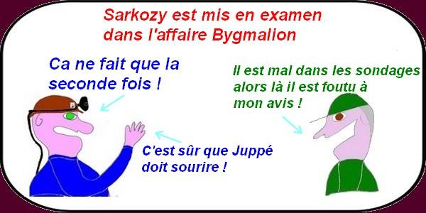 mise en examen de Sarkozy