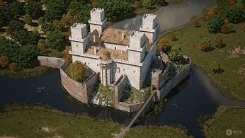 Un château hongrois un peu oublié ...