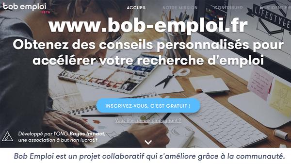 Bob-emploi.fr : Des conseils pour accélérer votre recherche