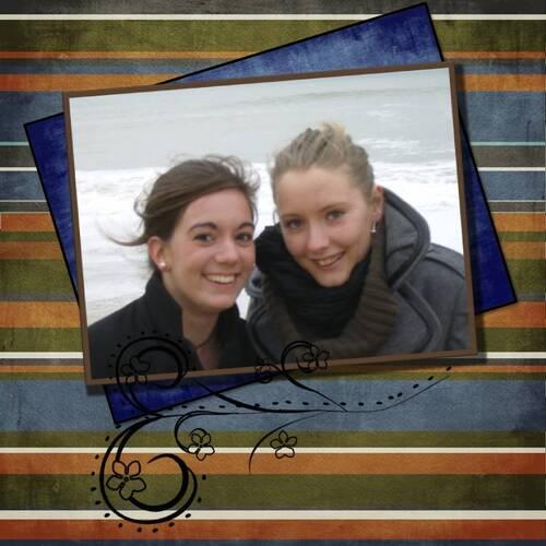 Justine et Charlotte Toussain 2008