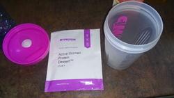 Myprotein le retour !!! 1/2 :  Active Protein Dessert gout vanilla Velvet