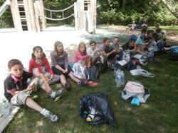 actualité de l'école : Notre visite au Clos Lucé n°3