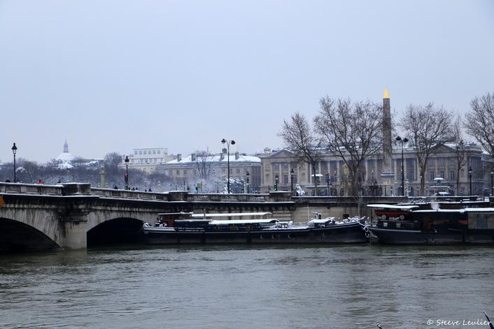 La Seine du Pont Royal au Pont de la Concorde