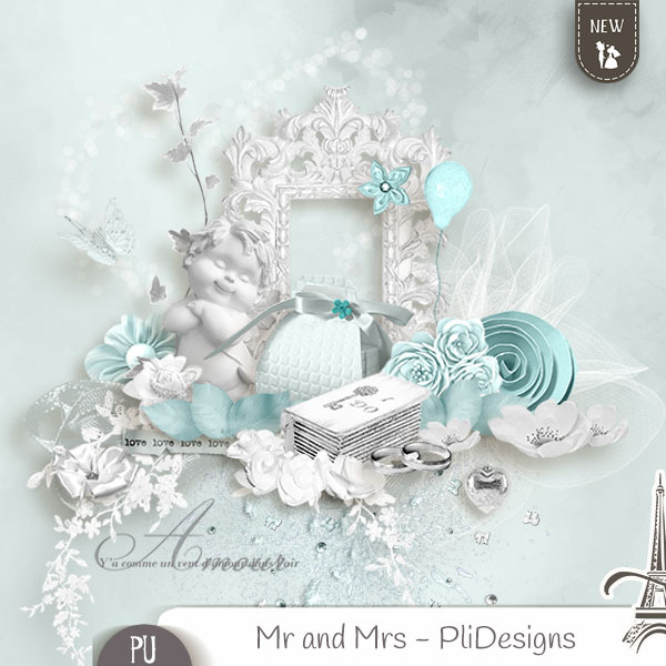 Mr and Mrs (PU) PliDesigns