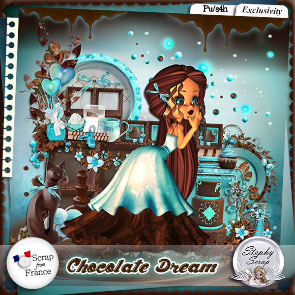 Chocolate Dream by Stephy Scrap