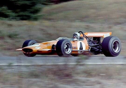 Bruce McLaren F1 (1968-1970)
