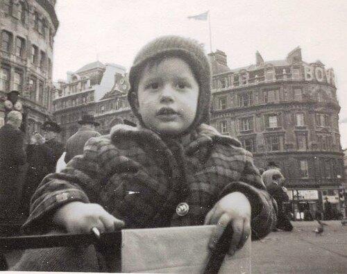 Trafalgar square in 1962