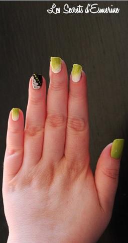 sun pearl kiko 427 amable chartreuse vernis vert anis