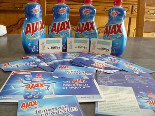 Test produit - Ajax je nettoie tout