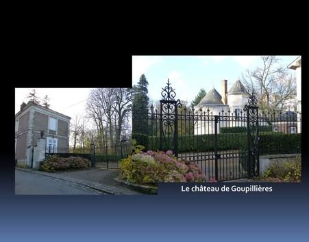 Le château de Goupillières