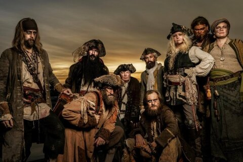"YE BANISHED PRIVATEERS - ""Deck And Hull"" Lyric Video"
