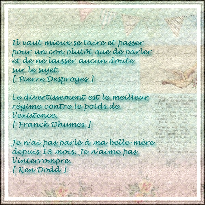 Citations et Proverbes 2: 3 citations drôles