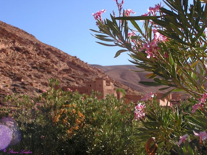 Village du Haut Atlas, Maroc
