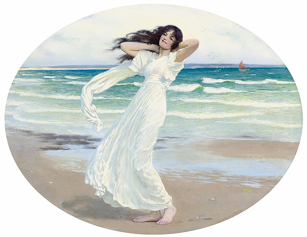 Peinture de :  William Henry Margetson