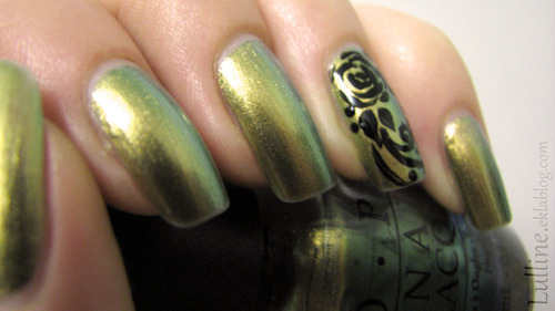 OPI - Just Spotted The Lizard