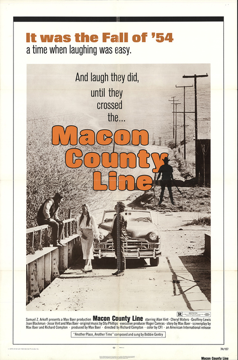 MACON COUNTY LINE  box office usa 1974