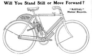 Préhistoire de la moto : images peu connues