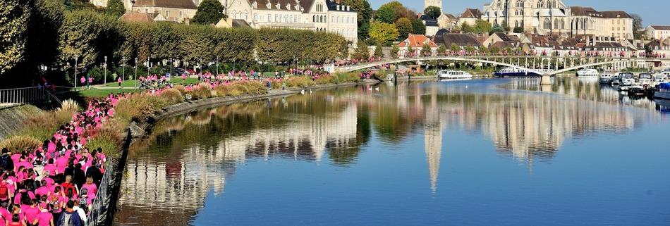 Les Foulées Roses de L'Yonne