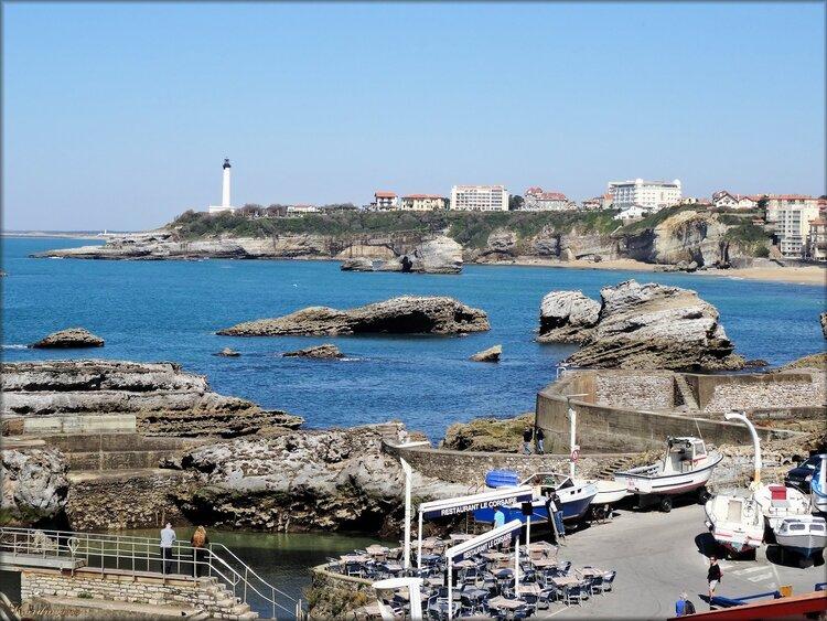 Photo de Biarritz en bord de mer (Pyrénées Atlantiques)