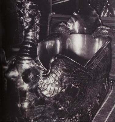 """La baignoire du prince de Galles de la chambre indienne du """"Chabanais"""""""