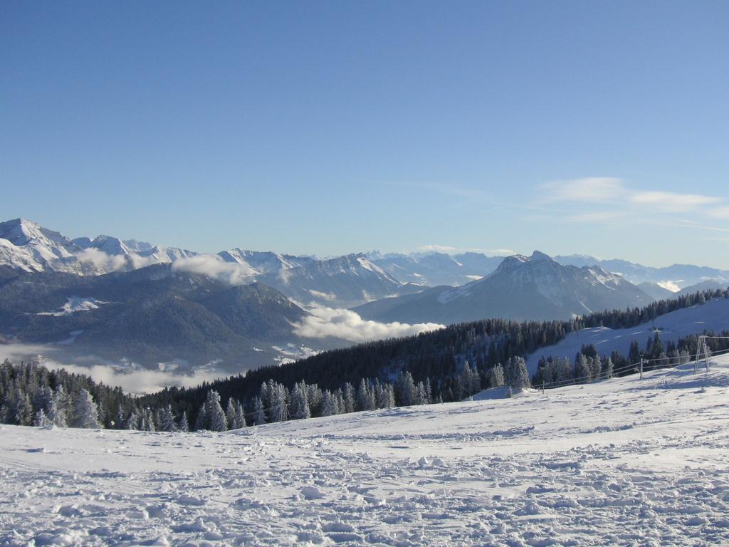 Je quitte les Alpes mais je reviendrai l'année prochaine à Noël si Dieu le veut !