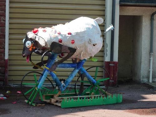 moutons de l'été