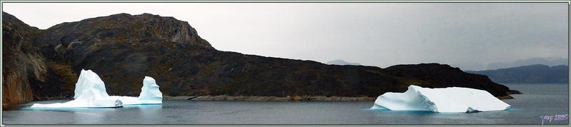 Le paysage est superbe mais la météo ne s'arrange pas, suite ... - Région d'Uummannaq - Groenland