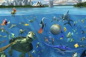 Hidden underwater