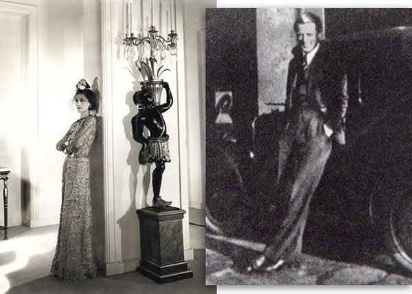 Coco Chanel at the Ritz in the 1930s. Baron von Dincklage in Paris, 1935.
