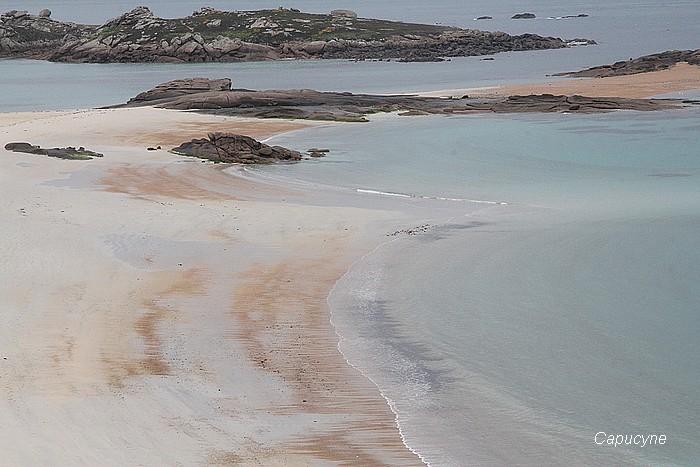 La côte de granit rose : 1-de Trégastel à Perros-Guirrec