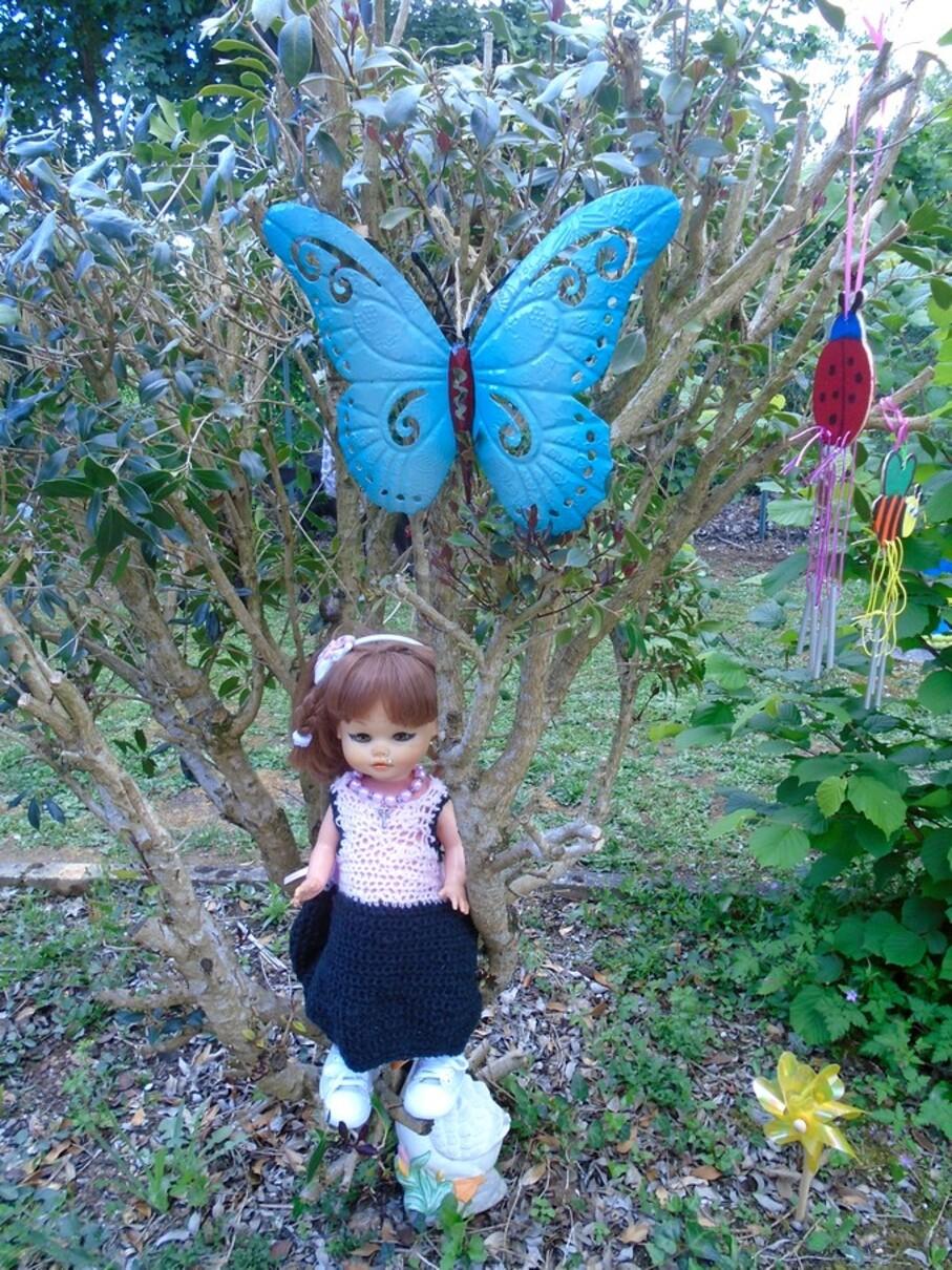 Rosalie et sa petite robe