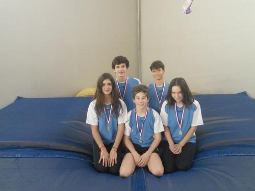Le collège officiellement qualifié pour le championnat de France d'athlétisme en salle dans le challenge sauts.