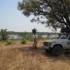 Mali Au bord du barrage de Sélingué