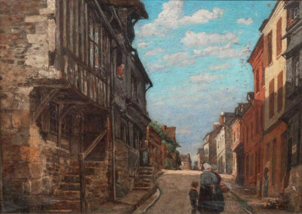 Peinture de : Louis Alexandre Dubourg