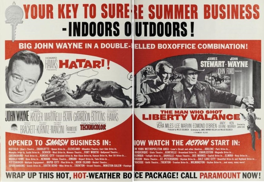 BOX OFFICE USA DU 2 JUIN 1963 AU 8 JUIN 1963