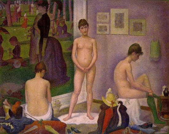 Georges Seurat, Les poseuses