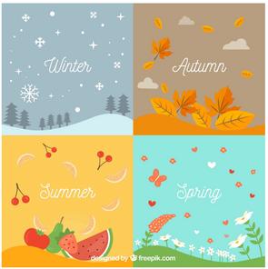 Les saisons/ the seasons