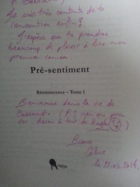 Pré-sentiment, tome 1 (Eloise Clunet)