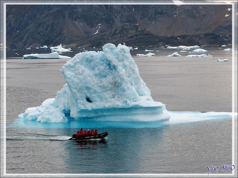 Iceberg - Kullorsuaq - Qaasuitsup - Groenland
