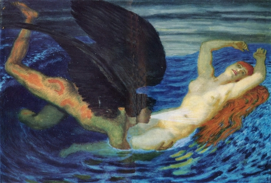 Franz Von Stuck, Vent et source