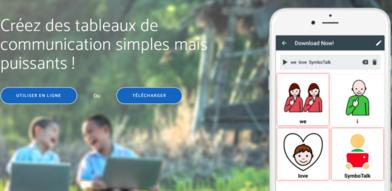 SymboTalk, application de communication pictographique gratuitement téléchargeable sous IOS et Android est disponible en français !